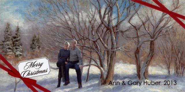 Gary and Ann, Christmas 2013